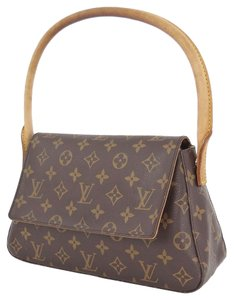Louis Vuitton Monogram Mini Tote in Browns