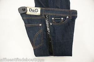 Dolce&Gabbana Dg Wonder Woman Very Tight Fit Leather Trim Or 0 Skinny Jeans