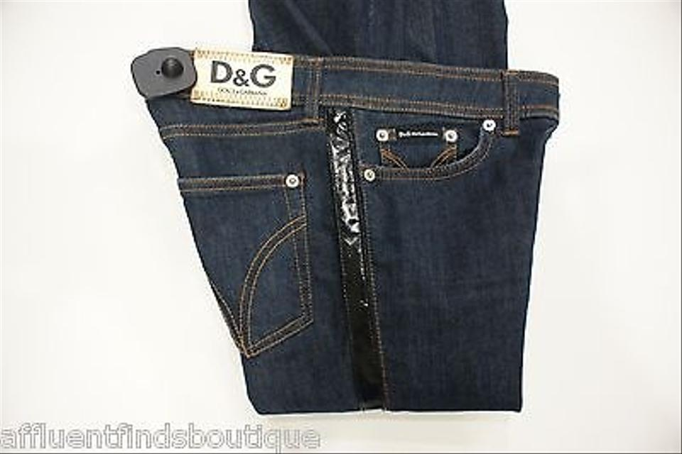 0f07bcece7053 Dolce Gabbana Dg Wonder Woman Very Tight Fit Leather Trim Or 0 Skinny Jeans  Image 0 ...