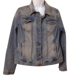 Ann Taylor LOFT light blue Womens Jean Jacket