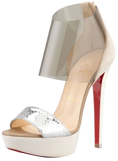 Preload https://item2.tradesy.com/images/christian-louboutin-silver-dufoura-bootsbooties-size-us-5-regular-m-b-6098356-0-1.jpg?width=440&height=440