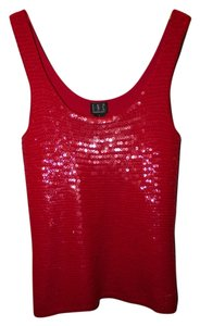 INC International Concepts Sequin Tank Party Tunic