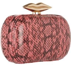 Diane von Furstenberg Dvf Evening Evening Hot pink Clutch