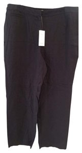 Eileen Fisher Organic Linen Pants Straight Leg Jeans-Light Wash