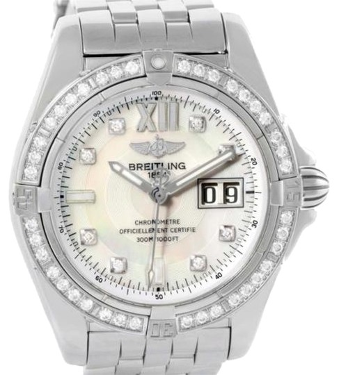 Preload https://item2.tradesy.com/images/breitling-mother-of-pearl-windrider-cockpit-steel-diamond-a49350-watch-6101776-0-1.jpg?width=440&height=440