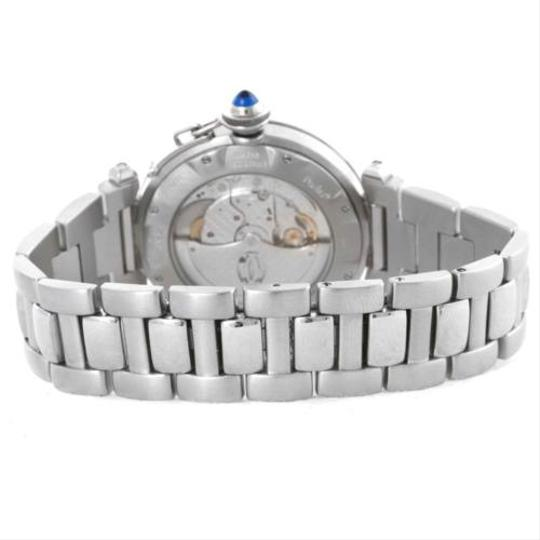 Cartier Cartier Pasha Seatimer Stainless Steel Grid Watch W31059H3