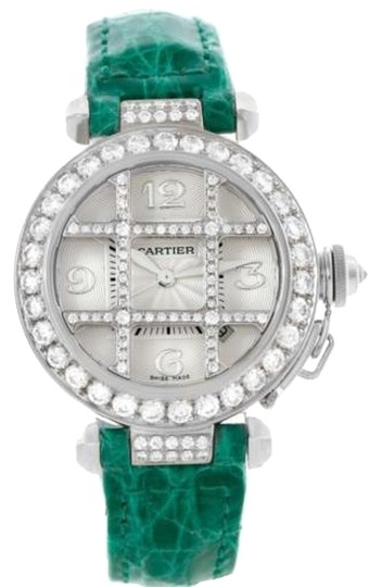 Preload https://item5.tradesy.com/images/cartier-silver-pasha-32mm-18k-white-gold-diamond-grid-wj116136-watch-6101794-0-0.jpg?width=440&height=440