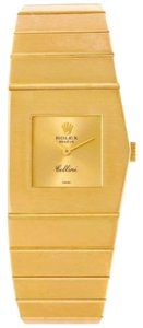 Rolex Rolex Cellini Midas 18k Yellow Gold Ladies Right Handed Watch 9768