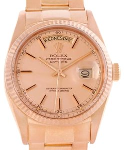 Rolex Rolex President Day-date 18k Rose Gold Mens Watch 1803