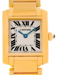 Cartier Cartier Tank Francaise 18k Yellow Gold Ladies Watch W50002n2