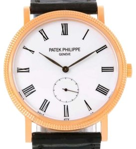 Patek Philippe Patek Philippe Calatrava 18k Rose Gold Mechanical Watch 5119r Unworn