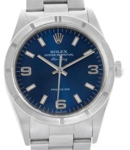 Rolex Rolex Air King Blue Dial Stainless Steel Mens Watch 14010