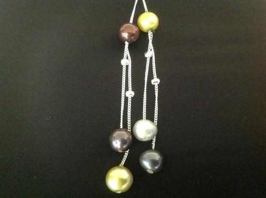 Other Multi Colored Fresh Water Cultured Pearl Necklace