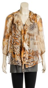 Roberto Cavalli Top Yellow