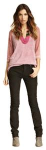 Free People Plum Corduroy Pant Skinny Jeans-Light Wash