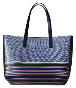 J.Crew Tote in Navy Blue/Multi