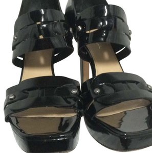Via Spiga Black Platforms