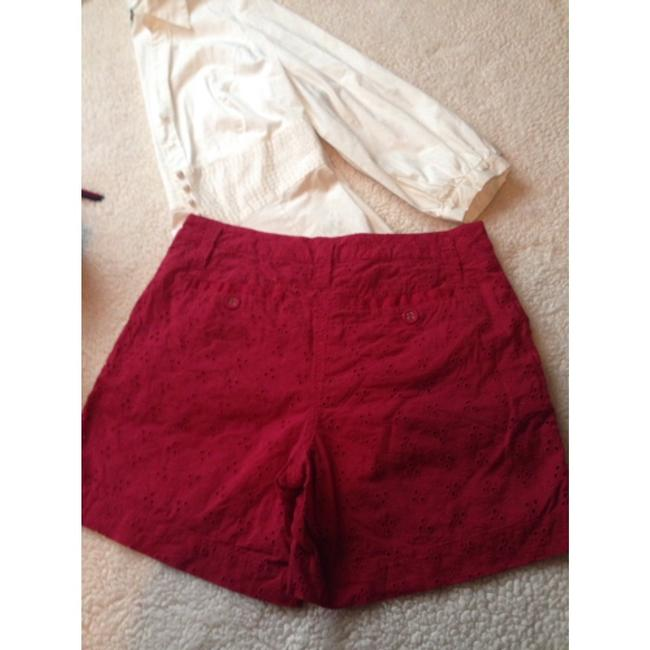 Willi Smith Dress Shorts Red