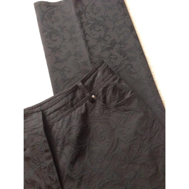 Trousers Straight Pants Blac
