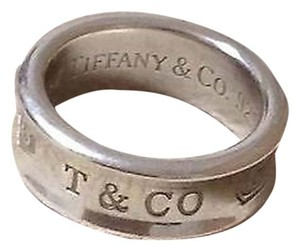 Tiffany & Co. Tiffany Sterling Silver 1837 band style ring