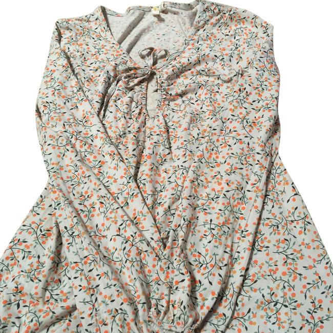 Anthropologie Long-sleeve Top Floral