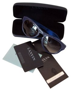 Lanvin New in case Lanvin SLN589 sunglasses, gray/blue