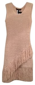 BCBGMAXAZRIA short dress Beige on Tradesy