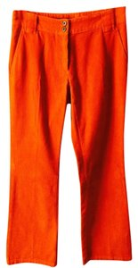 Max Mara (made In Italy) Relaxed Pants Dark Orange
