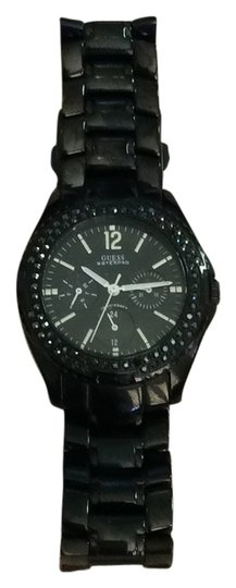 Preload https://item2.tradesy.com/images/guess-black-with-black-crystal-bezel-watch-6109651-0-0.jpg?width=440&height=440