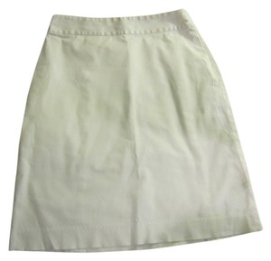Banana Republic Pencil Skirt White