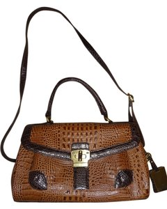 Etienne Aigner Crossbody Satchel in Brown