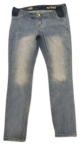 Gap Maternity Skinny Jeans-Distressed