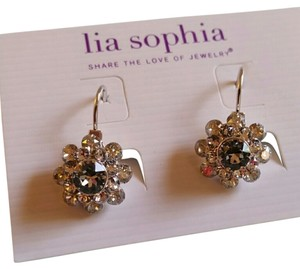 Lia Sophia Lia Sophia Crystal bouquet (clear) earrings