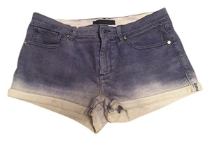Juicy Couture Mini/Short Shorts Navy ombre