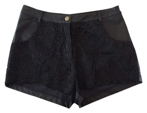 ASTR High Waist Mini/Short Shorts Black