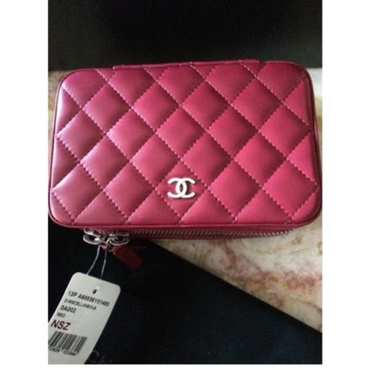Chanel Chanel Quilted Classic Jewelry Case