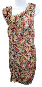 Catherine Malandrino short dress Silk on Tradesy