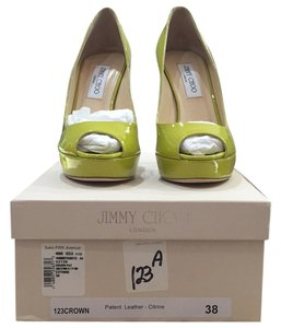 Jimmy Choo Citrine Platforms