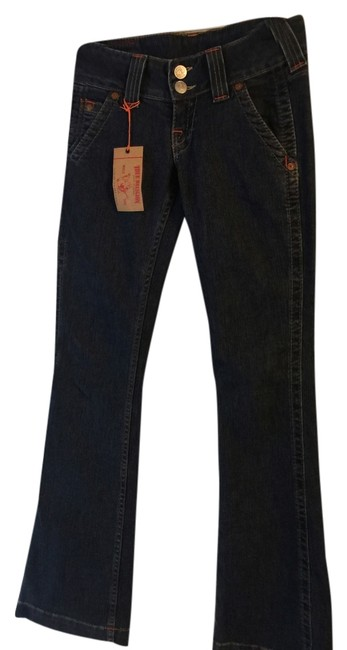 True Religion Relaxed Fit Jeans-Dark Rinse