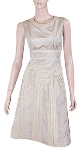 Moschino Taffeta A-line Evening Party Dress
