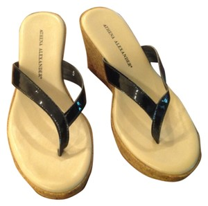 Athena Alexander Black Sandals
