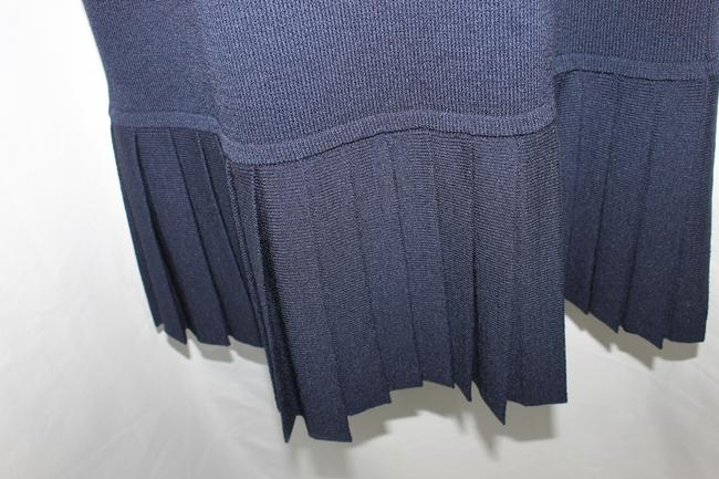 St. John short dress Sport Navy Blue Knit on Tradesy