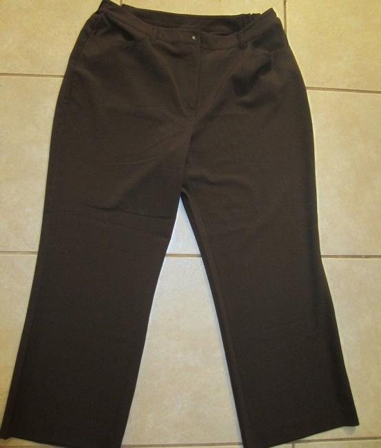 Chico's Trouser Pants Brown