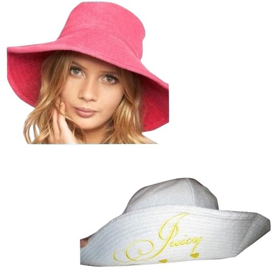 Juicy Couture NEW Juicy Couture Blue Terry Floppy Hat