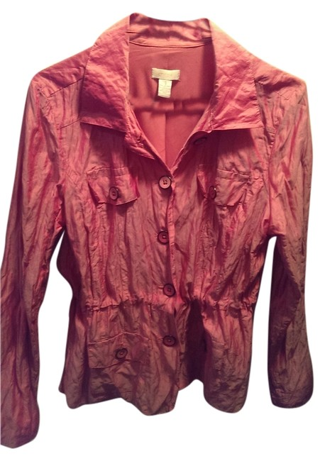 Chico's Button Down Shirt Pink