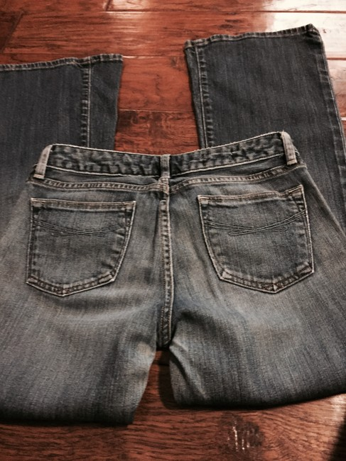Gap Boot Cut Jeans-Distressed