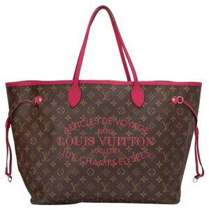 Louis Vuitton Lv Neverfull Limited Monogram Tote