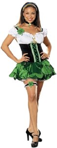 Torrid short dress Green New Plus 3x 4x St. Patrick's Good Luck Charm Costume Leprechaun Halloween Costume Halloween on Tradesy
