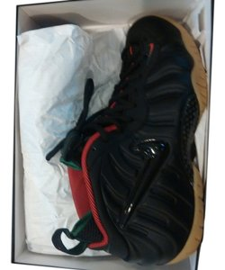 nike foamposite pro black red green Athletic