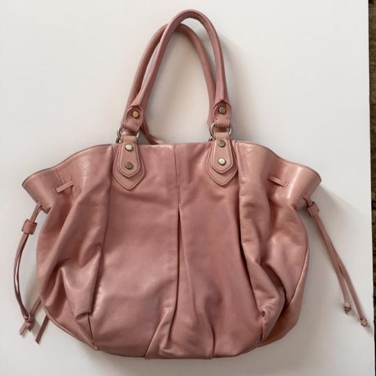 Botkier Handbag Leather Handbag Satchel in dusty rose pink